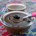 Crème-vapeur au chocolat