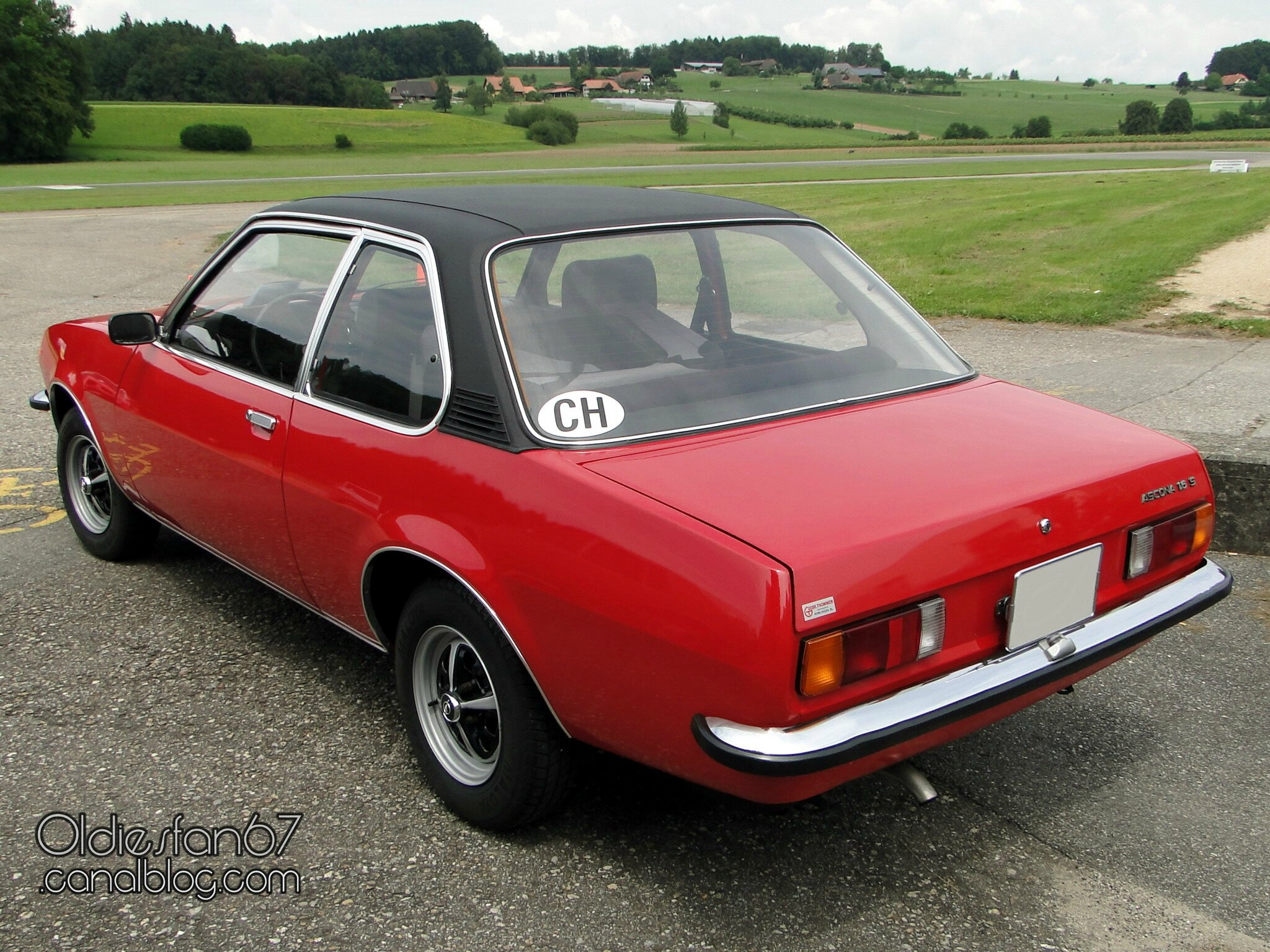 opel ascona b 1 6 s deluxe 2 portes 1975 oldiesfan67 mon blog auto. Black Bedroom Furniture Sets. Home Design Ideas