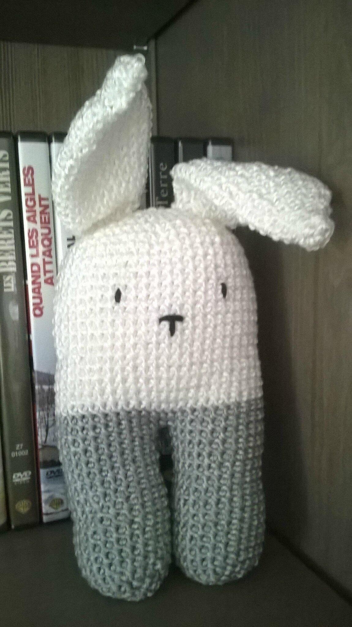 Petit lapin bipède - TUTO