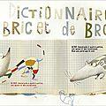 Une double page du dictionnaire de bric et de broc