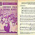 Édouard duleu et son orchestre - cheveux fous et lèvres roses