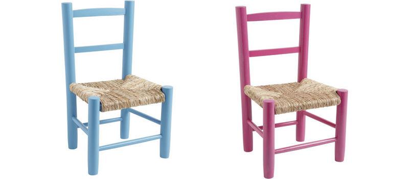 Fauteuil et chaise entre cha et ra for Petite chaise en bois et paille
