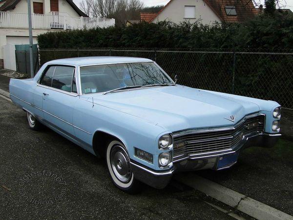 cadillac de ville hardtop coupe 1966 1