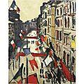 FAUVISME 1906_Le 14 Juillet au Havre_ Marquet