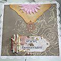 Cartes anniversaire et remerciements