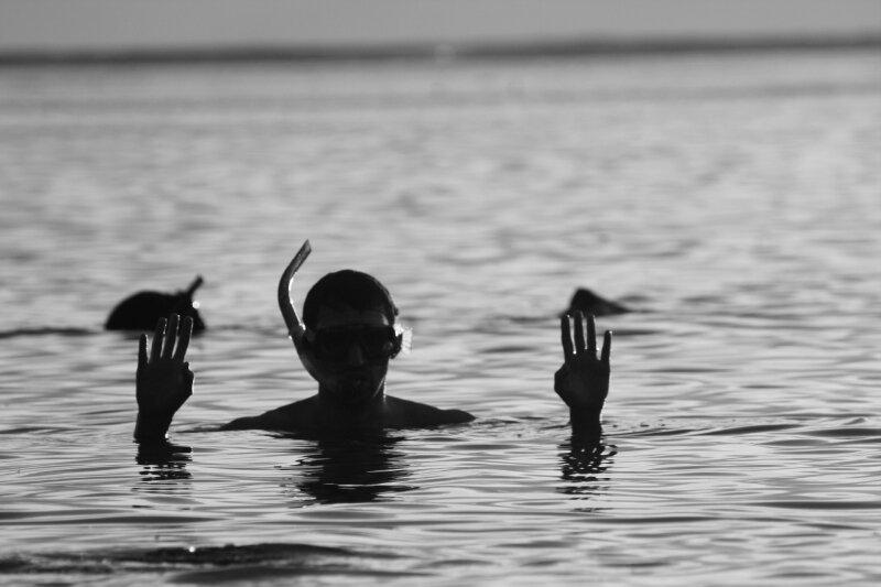 mael en plongée