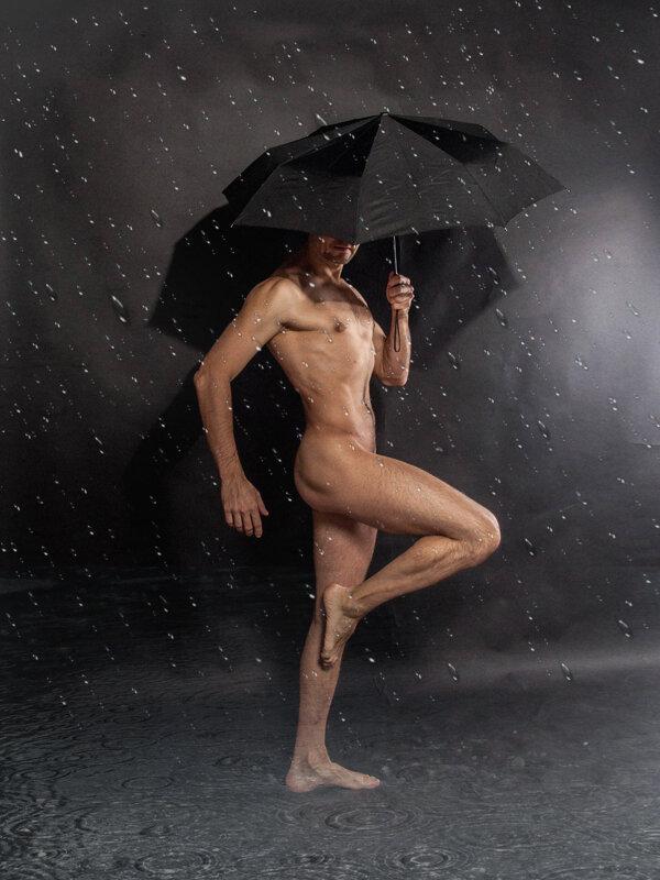La pluie fait des claaquettes