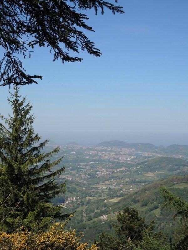 Les Trois Couronnes, forêt, second panorama (Espagne)