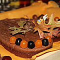 Gâteau d'automne au chcolat