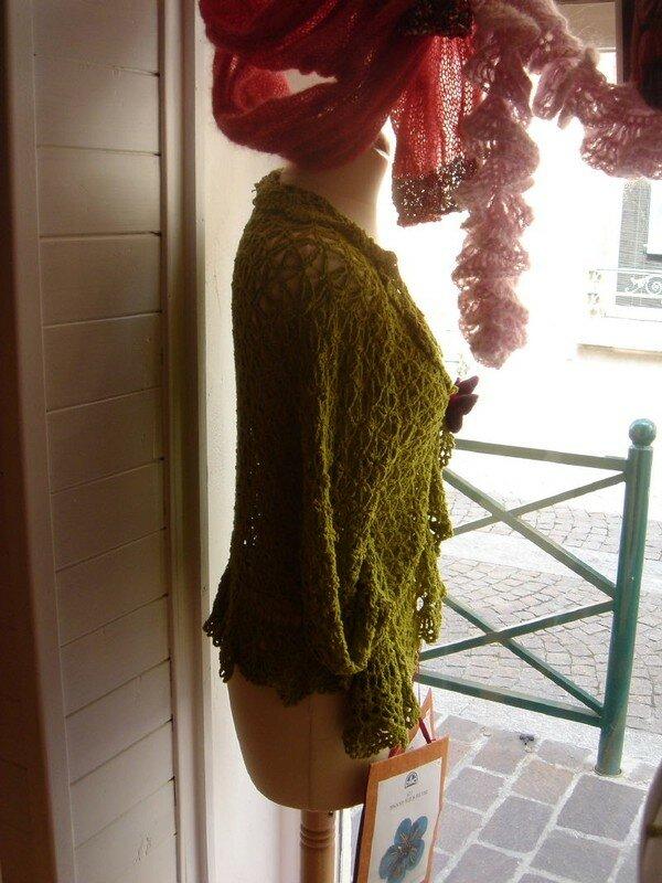 bolero en kira (crochet)