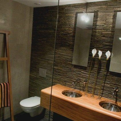 Stunning Salle De Bain Nature Pierre Ideas - Awesome Interior Home ...