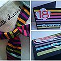 Carte anniversaire 18 ans de coraline #birthday card #little marcel #carte anniversaire