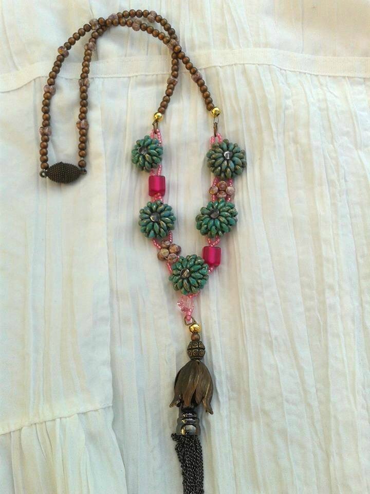 "collier ""flor"" de passion bijoux"