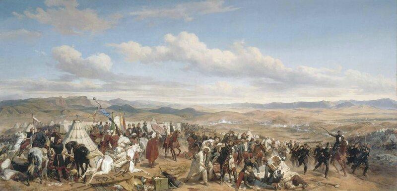 Vernet horace-la bataille d'isly 14 aout 1844