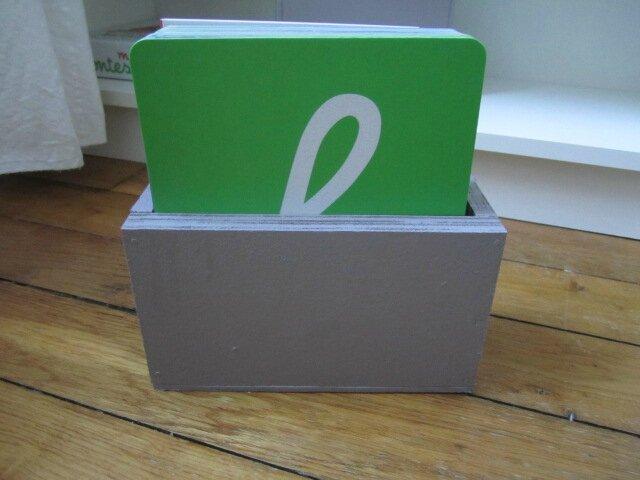 boite pour lettres rugueuses