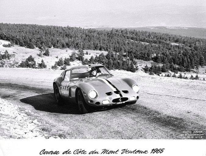1965 - CC du Mont Ventoux (Annie Soisbault - Ferrari 250 GTO)