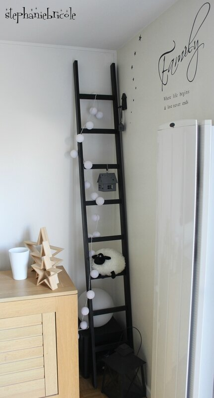 diy faire une chelle d co soi m me technique de l 39 assemblage par tourillons st phanie bricole. Black Bedroom Furniture Sets. Home Design Ideas