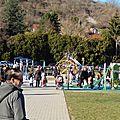 Parc des chaprais : l'aire de jeux pour enfants est sale!