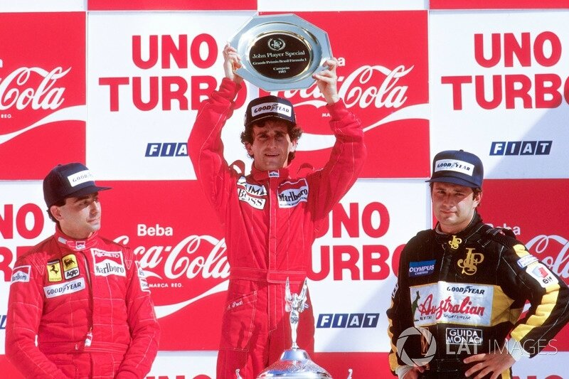 f1-brazilian-gp-1985-podium-race-winner-alain-prost-mclaren-tag-porsche-second-place-miche