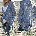 Gilet crochet Drops 99-3