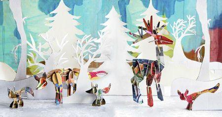 Fox&Deer