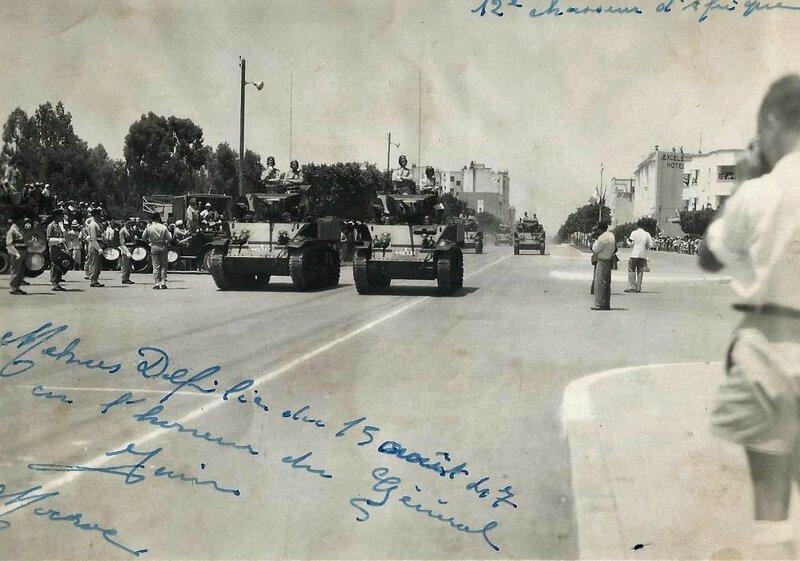12RCA Meknès 1947