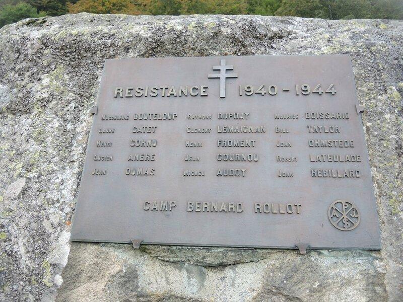Refuge de la Glère, Camp Bernard Rollot