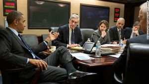 Boston bombings Obama national security team meeting