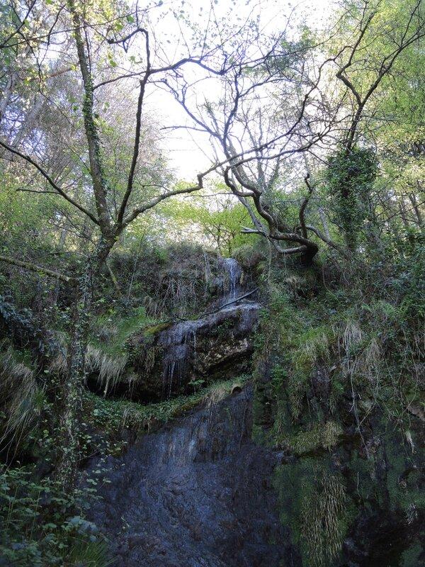 Les Trois Couronnes, forêt, cascade (Espagne)