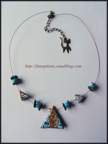 pate fimo bijoux polymere collier bracelet boucle d oreille artisanat (15)