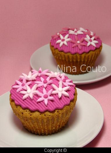 Cupcakes d co p te sucre atelier des gourmandises - Deco pour cupcake ...
