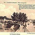 Nantes ancien - la Chaussée de Barbin