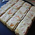 Terrine de saumon aux crevettes