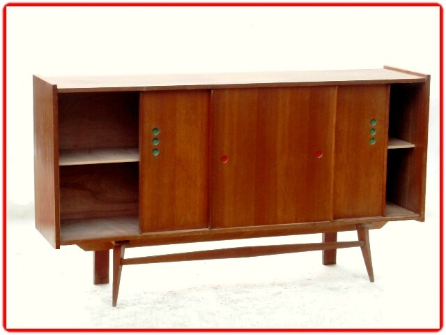 enfilade vintage années 1950 C. PERRIAND
