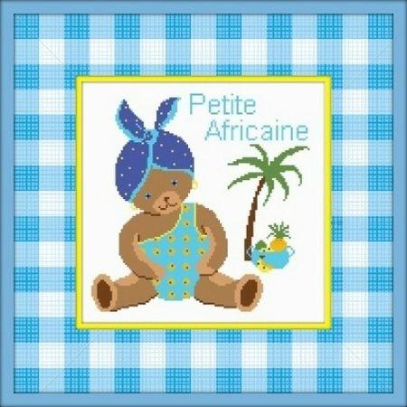 Photo AfricaineG cadre jaune