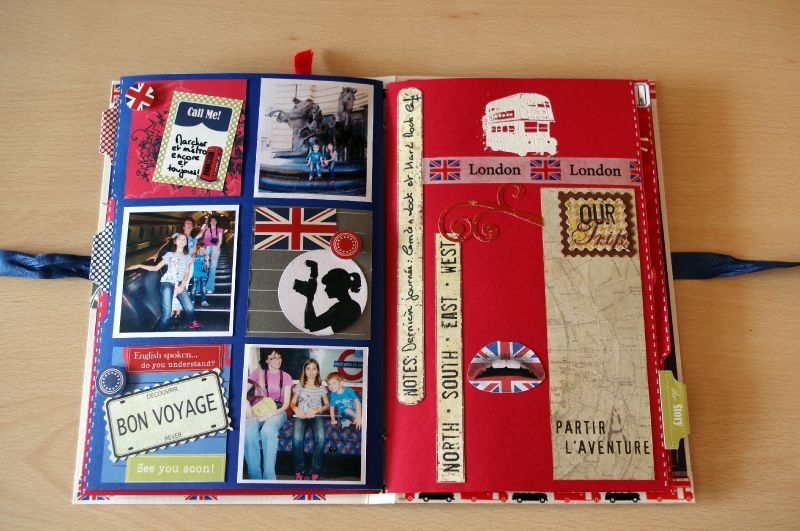 SCRAPBOOKING SUR LONDRES, Galerie Creation