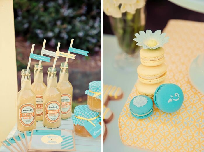 Yellow-wedding-details