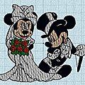 Broderie machine : mariage !