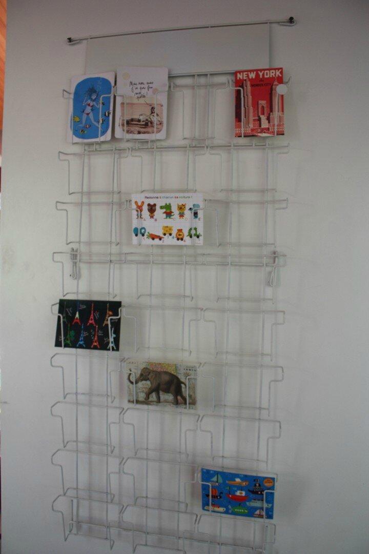 VENDUE • Grille présentoir mural de cartes postales • - Deco Trendy ...