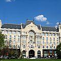 Gresham palace - budapest (hongrie)