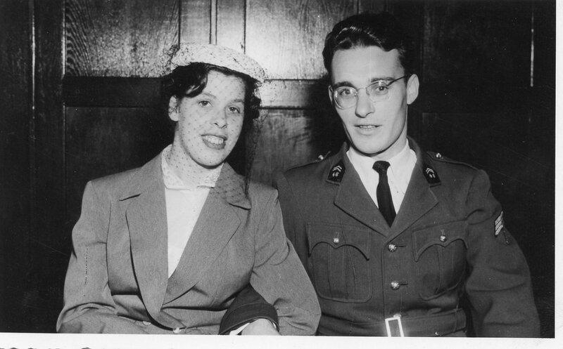 Alexandre et Anita Wendling