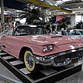 Ford thunderbird 2door convertible avec continental kit 1958