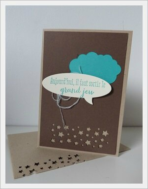 carte anniversaire stampin up