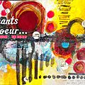 Art journal café : challenge