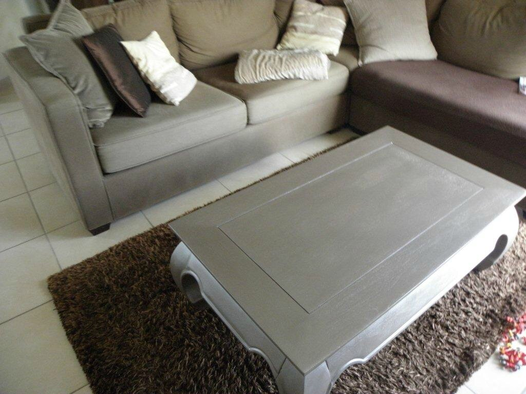 Super RELOOKING TABLE BASSE - LES CREATIONS D'ISA CV52