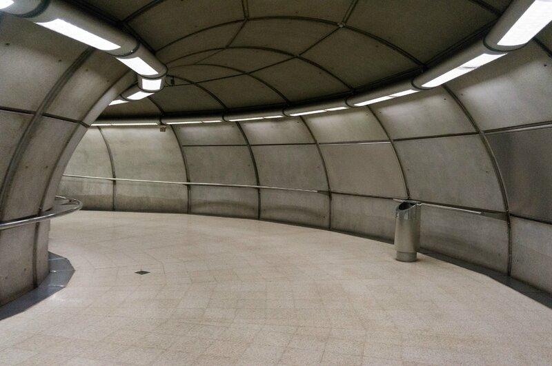 Métro, concçu par Norman Foster, Bilbao