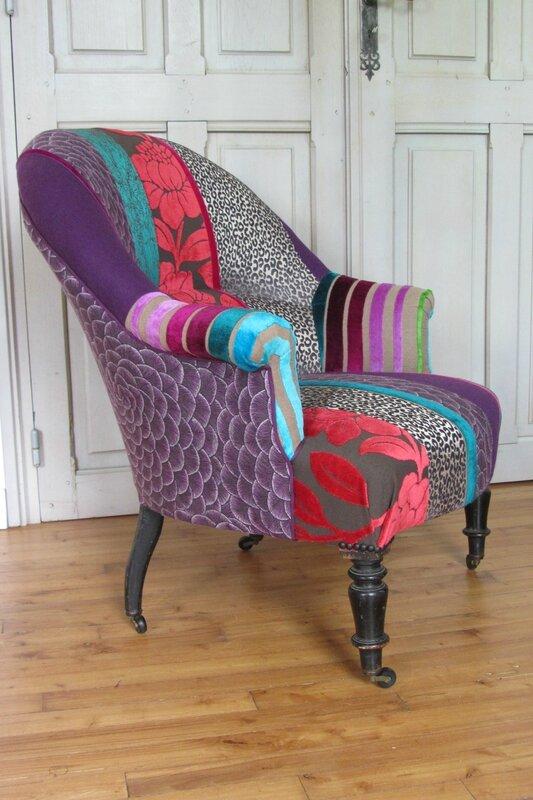 création en patchwork tapissier à Bohars