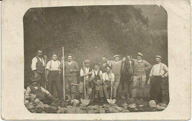 Photo Serge avec les ouvriers