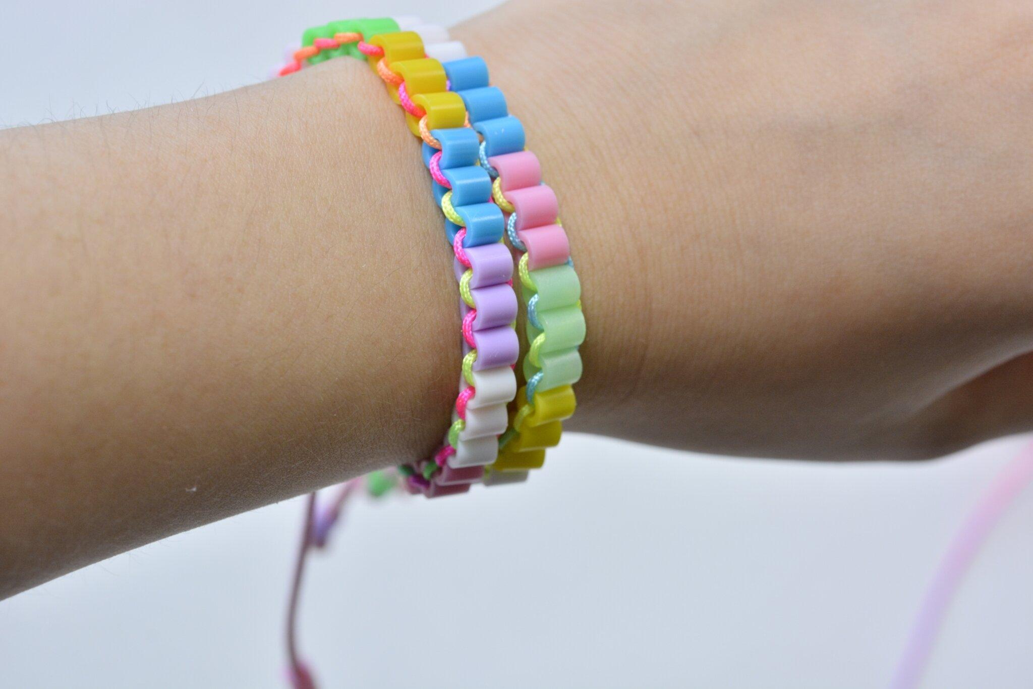 Gut gemocht Comment faire un bracelet avec perles à repasser sans fer  ZT72