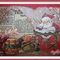 Mail art du Père Noël